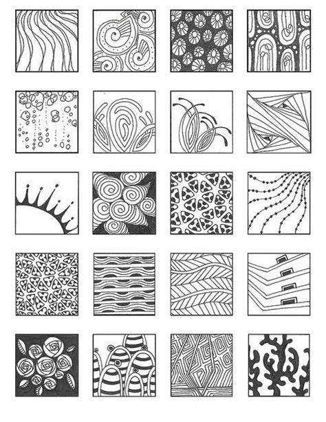 pattern drawing pdf zentangle basic patterns zentangle patterns noncat 7