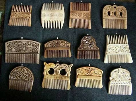 anglo saxons hair stiels celtic anglo saxon and viking hair combs date in 800