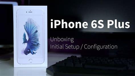 iphone   unboxing initial setup configuration
