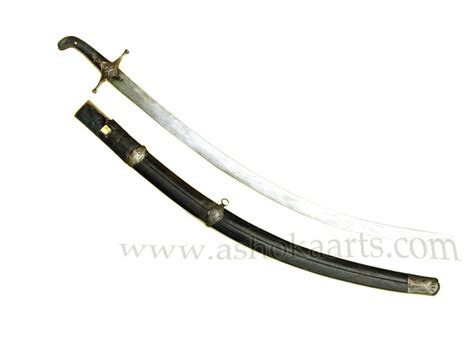 shamshir sword antique caucasian georgian shamshir khmali sword