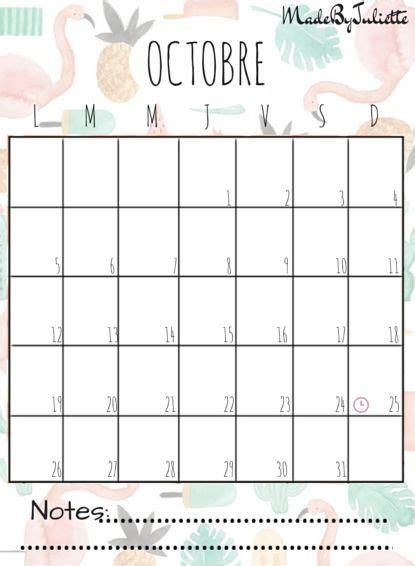 I Calendrier Octobre 2015 Octobre 2015 Imprimes Le Calendrier Pour Customiser
