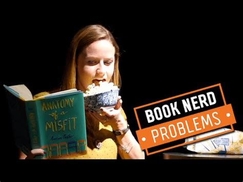 book nerd problems | eating while reading youtube