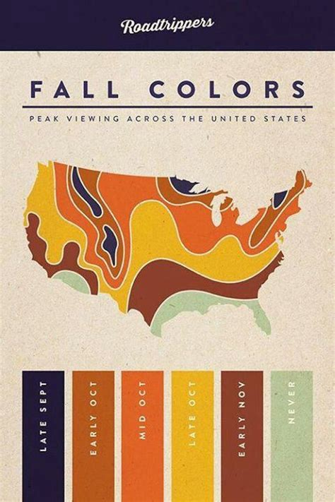 fall colors map peak fall colors national map autumn