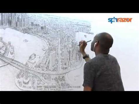 time lapse of brisbane panorama by stephen wiltshire youtube unbelievable time lapse of artist s singapore panorama