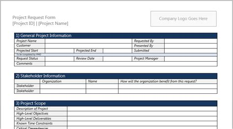 new project template project request form template for microsoft word 2013