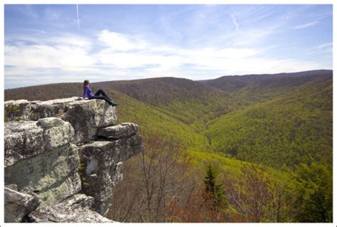 Where Is Table Rock by Table Rock Virginia Trail Guide