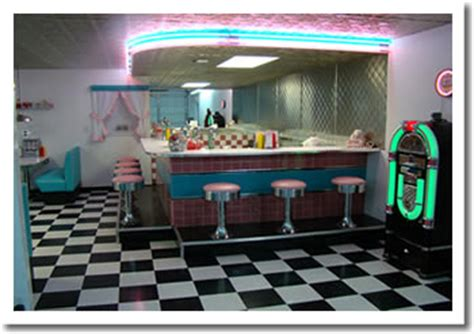 Garage Diner by Retro Garage Bar Diner 1950 S Diner Booths Bar Stools
