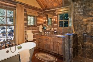 cabin bathrooms ideas 45 rustic and log cabin bathroom decor ideas 2017 wall