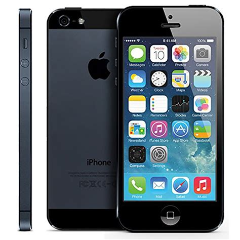 apple iphone 5 16gb black refurbished city ua apple iphone 5 16gb black