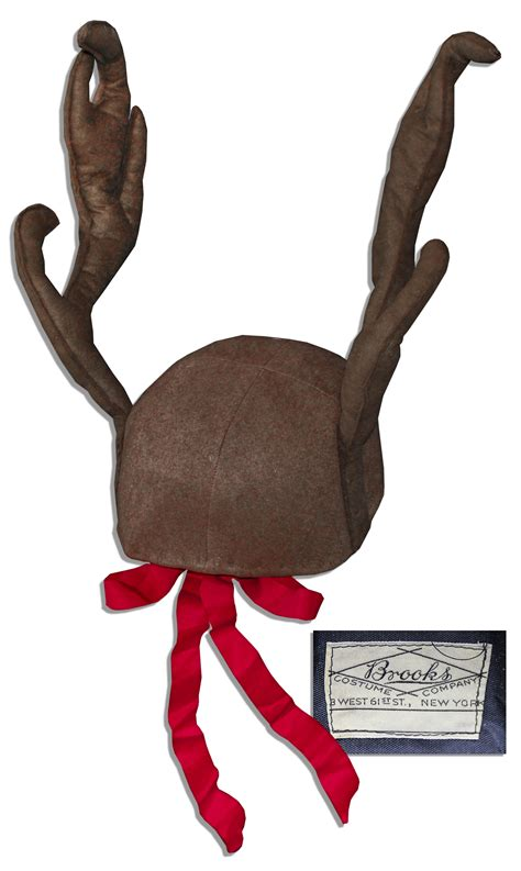 lot detail captain kangaroo reindeer antler hat