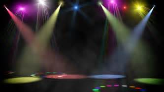 colored spotlights stage light stock footage 493483