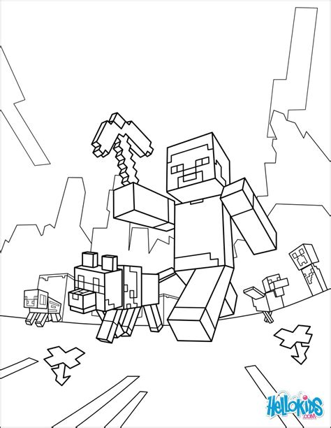 how to print in coloring book mode minecraft coloring page taking a walk coloring pages