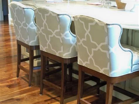 Best Fabric For Bar Stools by Cleaning Upholstered Bar Stools Yourself Traba Homes