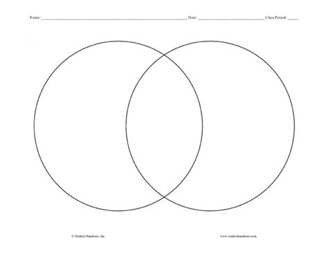 Template Diagram by 40 Free Venn Diagram Templates Word Pdf Template Lab
