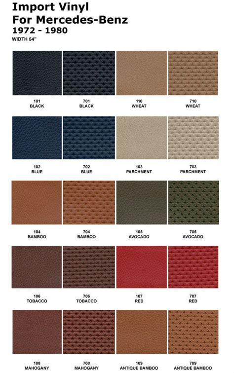 Mercedes Interior Color Codes by Mercedes Sl R107 450sl 350sl 380sl 560sl Door Skins Driver