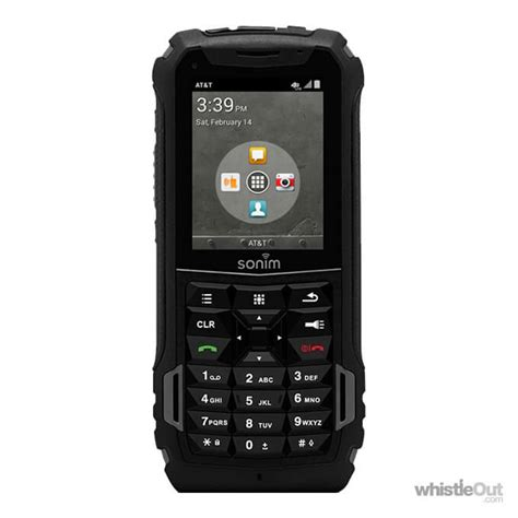 Rugged Flip Phone At Amp T Sonim Xp5 Prices Compare 14 Plans On At Amp T Whistleout