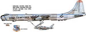 Convair b 36 peacemaker usa 348th bs 99th srw grb 36d ex rb