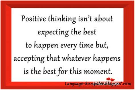 kata kata mutiara berpikir positif belajar