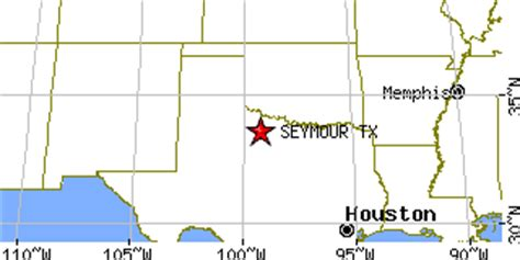 seymour texas map seymour texas tx population data races housing economy