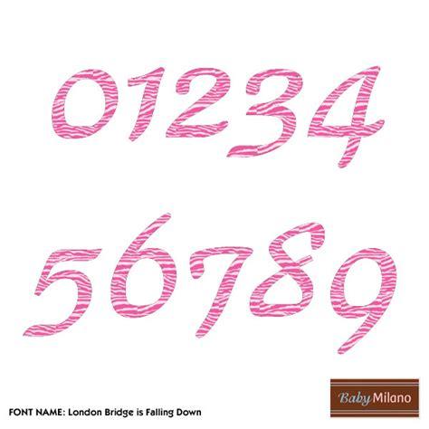 printable iron on numbers 17 zebra print numbers font images zebra print font free