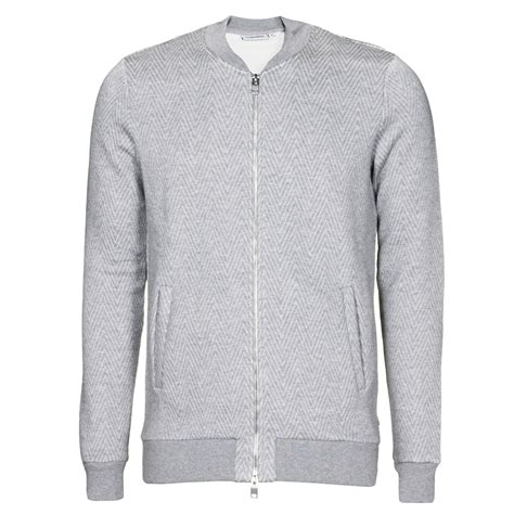 Grey Blazer By Jl Shop j lindeberg knitwear randall zick zack quilt top in