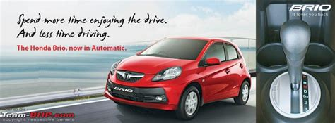 review of honda brio automatic honda brio automatic official review page 7 team bhp