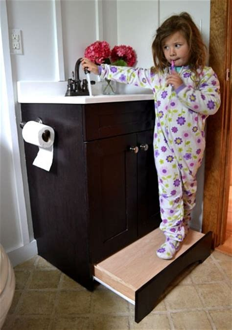 Cabinet Pull Out Step Stool by I Like The Drawer The Sink And The Pull Out Step And