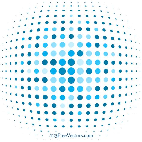 dot pattern background eps blue dot background illustrator by 123freevectors on