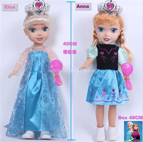 Set Gamis Frozen Elsa No 9 9 10thn frozen princess elsa baby dolls figures 47cm