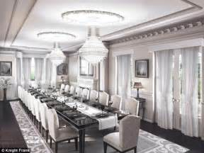 10 Person Dining Table Central London Mansion On The Market For 163 75m But It