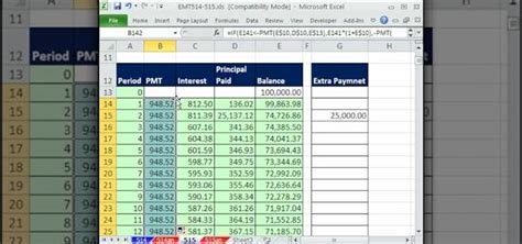 how to create an amortization table in microsoft excel