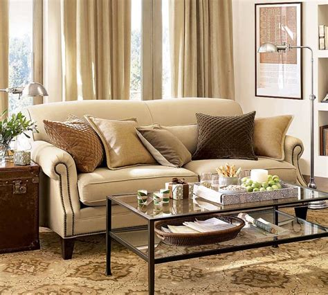 pottery barn decorating style spencer sofa for sale kate collins interiors