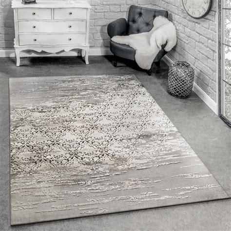 designer teppich designer teppich meliert grau beige design teppiche