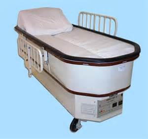 Fluidized Bed by Intensive Care Air Fluidized Therapy Bed Coolex Heat