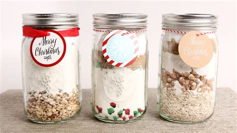 edible mix gifts home made food gift ideas