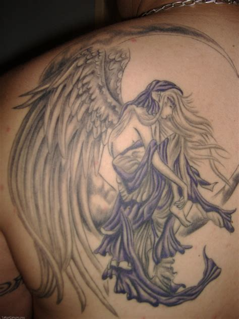 devil and angel tattoo tattoos