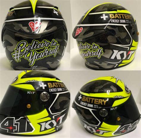 Kyt C5 Alex Espargaro Replica aleix espargaro motogp test helmet valencia 2016