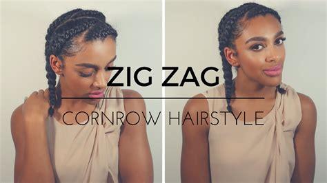 Cornrow Hairstyles For Hair Tutorial by Zig Zag Cornrows Hairstyles Fade Haircut