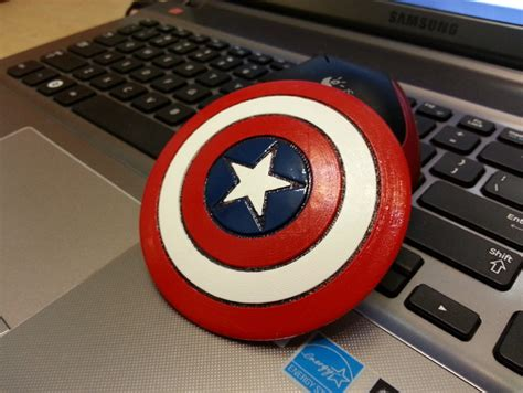 a pint of captain captain america shield by mming1106 thingiverse