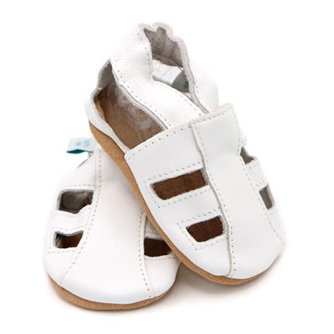 white baby sandals white sandals soft leather baby shoes dotty fish