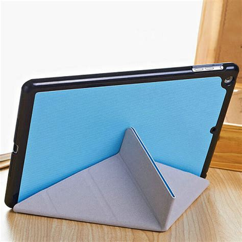 5 Air Tablet Cover Flip Leather Magnetic Armor Hardcase 5 shapes magnetic stand flip thin pu leather for air alex nld