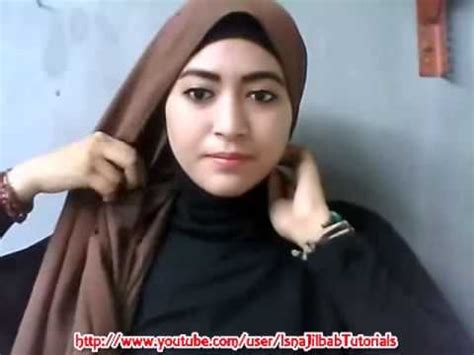 tutorial hijab paris simple natasha farani cara memakai jilbab paris simple inspired jenahara