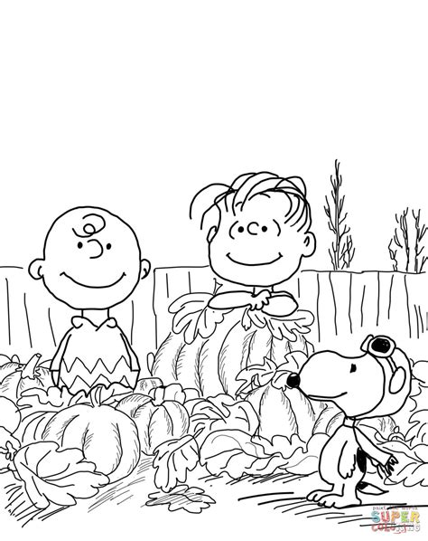 printable peanuts thanksgiving coloring pages charlie brown and snoopy peanuts coloring page coloring home