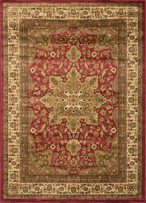 Asian Area Rug Traditional Border Area Rug 5x8 Carpet Actual 5 2 Quot X 7 2 Quot Ebay