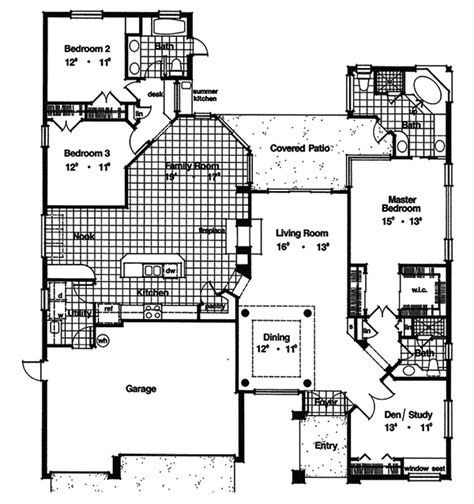 southwestern floor plans marco mesa southwestern home plan 047d 0207 house plans