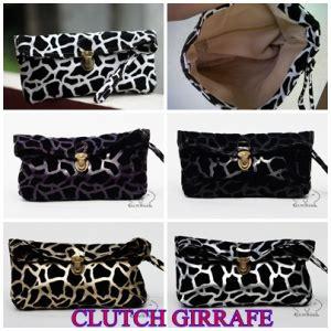 New Produk Tas Punggung Wanita Line Murah dompet kosmetik modis dan simpel giraffe stok habis