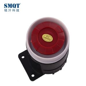 abs material 12v dc alarm electric siren 115db