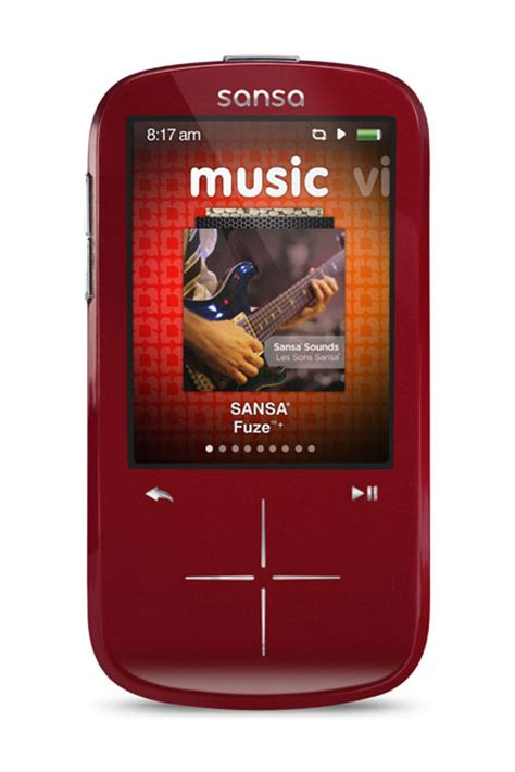 Home Theater Fuze sandisk sansa fuze 4 gb mp3 player