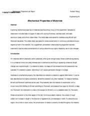 electrical engineering lab report template 03e45 recovery recrystallization regrowth lab report e45