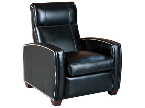 low leg recliner chairs classic leather thompson low leg recliner chair cl8701llr
